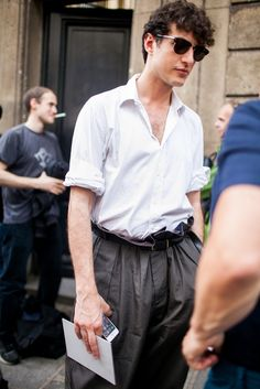 They Are Wearing: Paris Men's Fashion Week Spring 2017 | @wwd