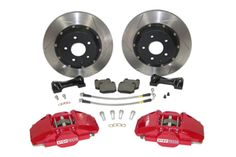 StopTech Rear 13 Inch 2 Piston Big Brake Kit Honda Accord Coupe V6 with 6M/T 03 ($2,600)
