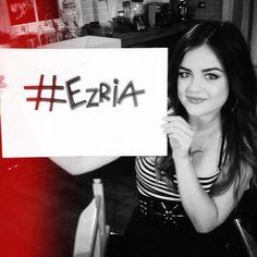 That's right! #ezria #pll