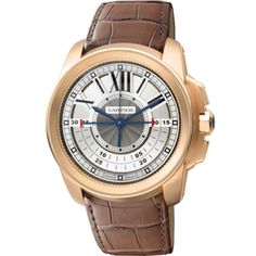 Buy Cartier Calibre de Cartier Chronograph Pink Gold Watches, authentic at discount prices. Complete selection of Luxury Brands. All current Cartier styles available. Cartier Calibre, Cartier Panthere, Love Cartier, Cartier Men, Cartier Watches, Cartier Santos, Pasha De Cartier, Mens Rose Gold Watch, Cartier Ballon Bleu