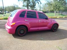 + buy a pt cruiser + Chrysler 2017, Chrysler Pt Cruiser, Miss My Best Friend, Pink Wheels, Pink Jeep, Pink Truck, Bike Wheel, Future Car, Great Memories