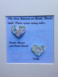 #CraftHour @EtsyUK bespoke gift for aunt / uncle from niece. Original 3d maps.https://www.etsy.com/shop/HorisandDoris …
