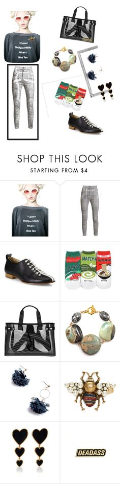 """""""N- titled"""" by bromaxx ❤ liked on Polyvore featuring Wildfox, Balmain, rag & bone, Forever 21, Armani Jeans, WithChic, Polaroid, Gucci and Edie Parker"""