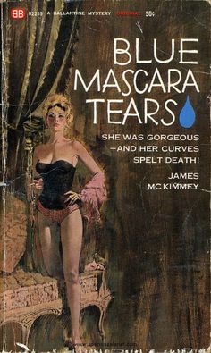 I love everything about this vintage book cover! Can this title be a lyric someday?