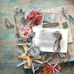 "Kit ""The Fisherman's Daughter"" by Valentina's creations https://www.digitalscrapbookingstudio.com/valentinas-creat…/ http://www.valentinascreations.com/Valentina-s_Creations/"