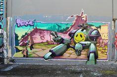Art by Peque in Sydney, Australia