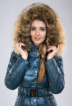 Puffer Coats, Puffer Jackets, Hooded Winter Coat, Girls Winter Coats, Fox Fur Coat, Rain Wear, Down Coat, Animal Kingdom, 21st Century