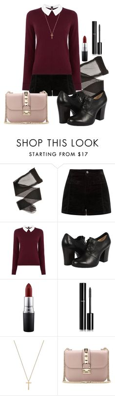 """""""kind of catholic"""" by deliag ❤ liked on Polyvore featuring Oasis, Frye, MAC Cosmetics, Chanel, Gucci, Valentino, women's clothing, women, female and woman"""