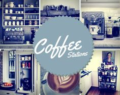 how to set up a home coffee station