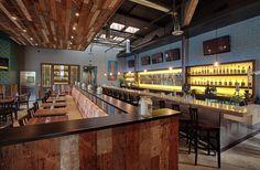 modern industrial design restaurant - Google Search