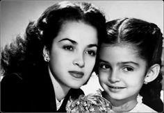 Ana Martin y su madre.