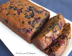 For the Love of Cooking » Berry Banana Bread