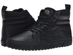 Vans SK8-Hi MTE (MTE) Black/Leather - Zappos.com Free Shipping BOTH Ways