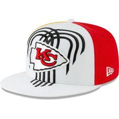 NFL Kansas City Chiefs  Logo 7 Yellow Buckle Back Cap NEW