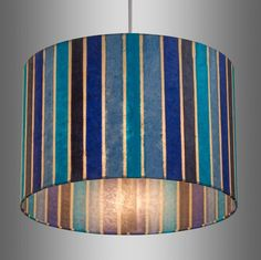 Red and turquoise lamp shade stribal design interior home drum lamp shades brisbane aloadofball Image collections