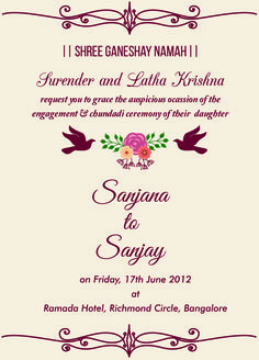 Free Engagement Invitation Wordings Check It Out