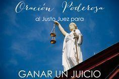CÓMO GANAR UN JUICIO: ORACIÓN FUERTE AL JUSTO JUEZ