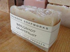 Bergamot Grapefruit Balance for Oily Skin Soap by SwansonSoapworks