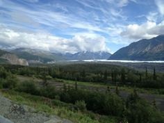 Mountains, ice, water, trees, flowers, grass, everything. Best of Alaska Motorcycle Adventure with MotoQuest : https://www.motoquest.com/guided-motorcycle-tour.php?ride-best-of-alaska-8