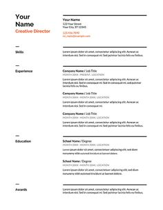 Free Resume Templates (Download Here) - Work Anywhere For Beginners Resume Template Free, Free Resume, Curriculum Vitae Template Free, Simple Resume Format, Professional Resume Writers, How To Make Resume, Functional Resume, Resume Words, Short Cuts