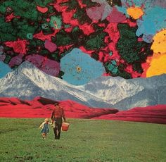 psychedelic by Moville TNT Surreal Art, Collage Art, Psychedelic, Surrealism, Art Photography, Vibrant, Mountains, Wallpaper, Artwork