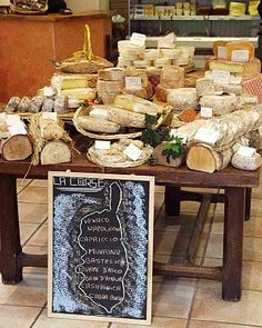 Paris- Androuet Cheese Shop #France #Fromage www.plaisirsdefrance.co.za