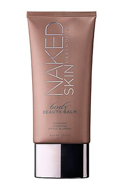 We're obsessed with this light-reflecting, skin-perfecting BB cream for your body. // Naked Skin Body Beauty Balm by Urban Decay