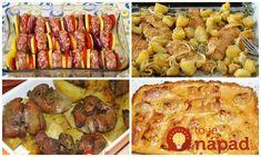 Archívy Recepty - Page 7 of 787 - To je nápad! Pasta Noodles, Meat Recipes, Mashed Potatoes, Mozzarella, Sausage, Pork, Pizza, Treats, Chicken