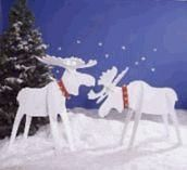 Merry Yuletide Moose : Large-format Paper Woodworking Plan from WOOD Magazine Woodworking Software, Woodworking Courses, Woodworking School, Learn Woodworking, Woodworking Patterns, Easy Woodworking Projects, Custom Woodworking, Woodworking Plans, Wood Projects