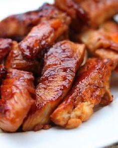 Low FODMAP Recipe and Gluten Free Recipe - Glazed Turkey Strips http://www.ibssano.com/low_fodmap_recipe_sticky_soy_turkey.html