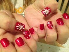 #christmasnails