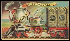 Levering's Reliable Roasted Coffee // E. Levering & Co., Baltimore, MD // Victorian trade card