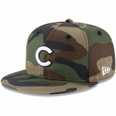 more photos 4edfc 470b9 Men s Chicago Cubs New Era Camo Basic 9FIFTY Snapback Hat, Your Price    29.99