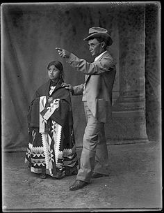 Bryant, a half-breed Osage and Osage Indian maiden wearing beautiful shawl