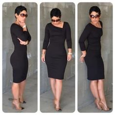 Mimi G Style black dress. Can you say WOWZA!!