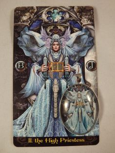 High Priestess Tarot Illuminati cabochon by IlluminatedJewels, $20.00