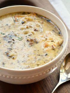 Enjoy this cream of mushroom soup recipe. For more recipes visit www.easy-souprecipes.com