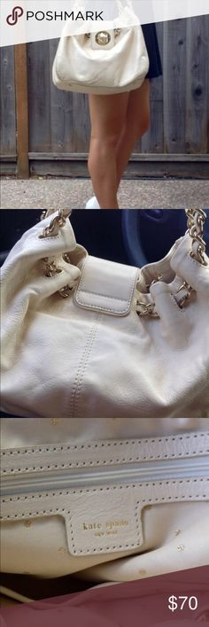 💞👜 Nice Kate spade summer bag😍 😍💞Nice medium handbag 👜 Kate spade ♠️this is a Re-Poshing 💞I bought this great bag that summer used it very little but loved it!! Comes up dust bag ❤️ In good used condition😍 kate spade Bags Hobos