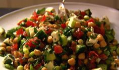 Middle Eastern Vegetable Salad | 2010, Barefoot Contessa How Easy Is That?, All Rights Reserved | The Daily Meal