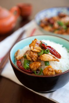 Cách làm món gà Kung Pao đậm vị ngon cơm mỗi ngày - http://congthucmonngon.com/128447/cach-lam-mon-ga-kung-pao-dam-vi-ngon-com-moi-ngay.html