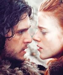 Image result for jon snow and ygritte together