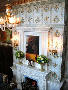 """""""The Smoking Room"""" by Ken@JBM, via Flickr fireplace for Mckinley"""