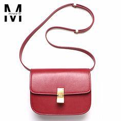 Classic box genuine napa leather handbags ladies crossbody famous brand designer small flap bags women stewardess shoulder bags