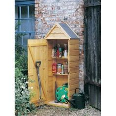 Tool sheds on pinterest tool sheds garden tool shed and for Small tool shed