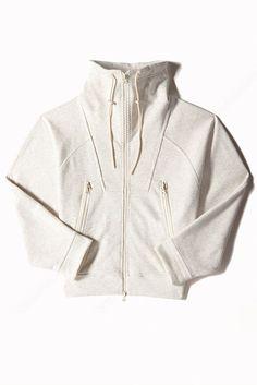 High neck workout jacket - adidas by Stella McCartney Sport Fashion, Look Fashion, Fashion Outfits, 80s Fashion, Outfits With Converse, Sporty Outfits, Estilo Fitness, Sport Chic, Stella Mccartney Adidas