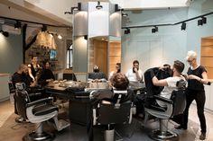 la barbiere de paris nouvelle boutique barbershop colonne fauteuils
