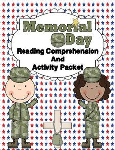 Are you looking for a fun, informational Memorial Day reading packet for your students this year? Then look no further! This packet was designed to reinforce comprehension and fluency with a Memorial Day theme. Students must read each passage three times, and then color a star for each time they read it.