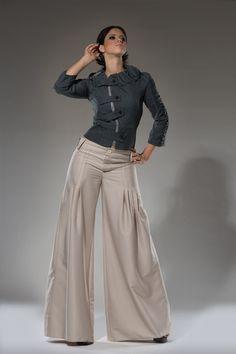 High waist Tan Wide leg women dress pants - $110.00. http://www.youngrepublic.com/women/bottoms/pants-trousers/high-waist-tan-wide-leg-women-dress-pants.html