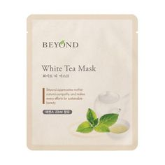 [Features] [Beyond] White Tea Mask 23ml * 1ea This hydrogel mask slows down the skin's aging process and enhances elasticity by quickly delivering natural nutri