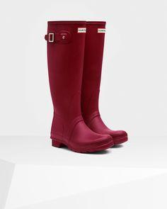 Women's Original Tall Rain Boot   Raspberry